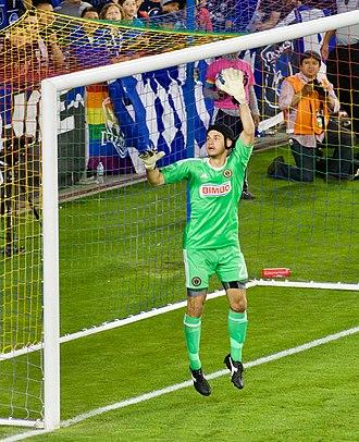 John McCarthy (soccer) - Image: John Mc Carthy leaps