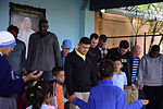 Joint Task Force-Bravo gives more than just food to local orphanage 150125-F-ZT243-002.jpg
