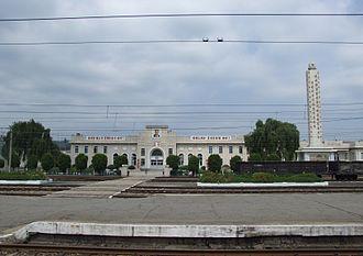 Chongju - Chŏngju Station