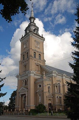 Joniškis - Joniškis church