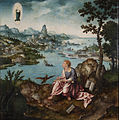 Joos van Cleve and Lucas Gassel - St. John the Evangelist on Patmos - Google Art Project.jpg
