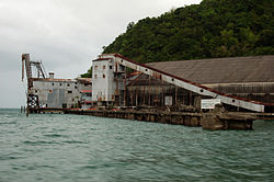 Harbour and Processing Plant