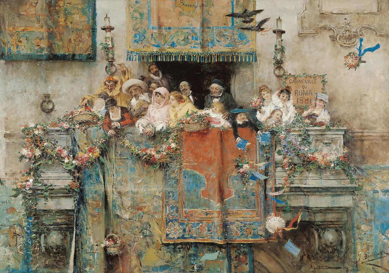 Хосе Бенльюре Жиль Карнавал в Риме 1881.jpg