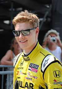Josef Newgarden at the 2012 Indy 500.jpg