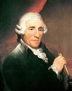 Joseph Haydn Austrian composer