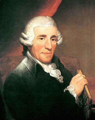 Joseph Haydn - Portrait of Joseph Haydn by Thomas Hardy (1791)