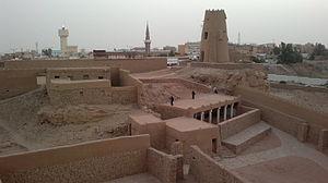 Sakakah - Image: Jouf castle