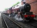 Jubilee Class 5690 Leander waits at Bolton Street.jpg