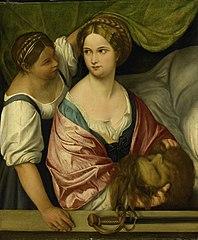Judith avec la tête d'Holofernes