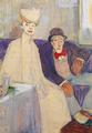 Jules Pascin - Couple insolent dans une salle d'attente, 1907-1908.png