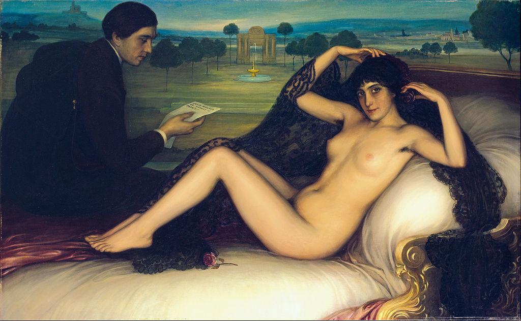 La Venus de la Poesía. Museo de Bellas Artes de Bilbao