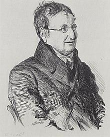 Julius Eduard Hitzig (von Adolph Menzel) (Quelle: Wikimedia)