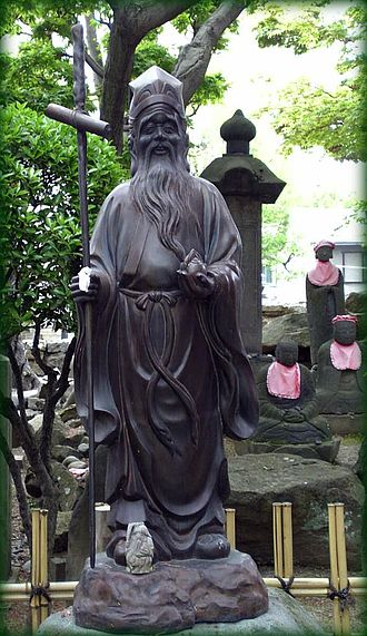 Longevity myths - Jurōjin, the God of Longevity in Taoism