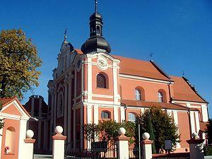 Kłodawa - Church of the Assumption of the Blessed Virgin Mary in Kłodawa, 18th century