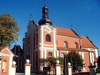 Kłodawa Place in Greater Poland Voivodeship, Poland