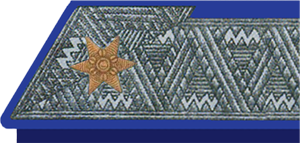 Rank insignia of the Austro-Hungarian armed forces - Major with silver galloon