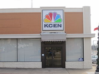 KCEN-TV - KCEN's Temple offices are located across the street from its former newspaper sister, the Temple Daily Telegram.