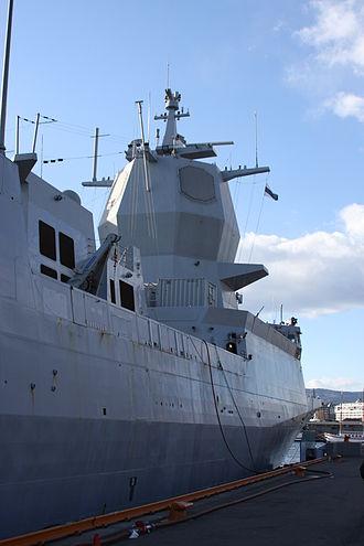 Fridtjof Nansen-class frigate - Image: KNM Fridtjof Nansen 02