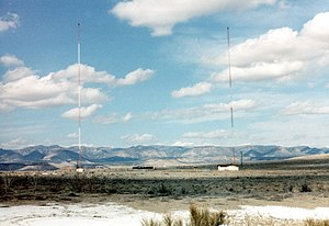 KOAL - The radio towers for KOAL AM 750.