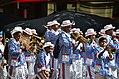 Kaapse Klopse marching through Cape Town (2017).jpg