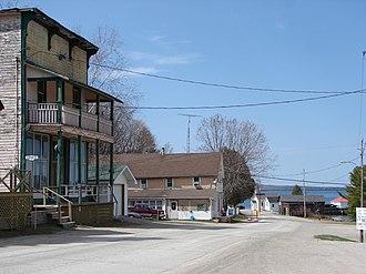 Billings, Ontario - The waterfront of Kagawong