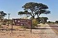 Kalahari Trails sign, Kalahari, Northern Cape, South Africa (20353961928).jpg