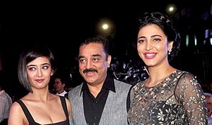 Shruti Haasan - The Haasans: Akshara, Kamal and Shruti