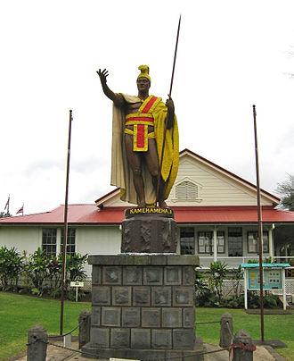 Kapaau, Hawaii - Image: Kamehameha statue Kohala