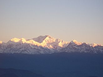 Northeast India - Mt. Kanchenjunga, Sikkim