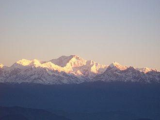 Northeast India - Mt. Kanchenjunga, Sikkim