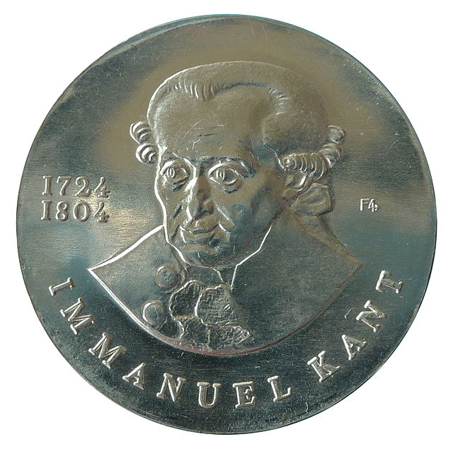 Immanuel Kant coin