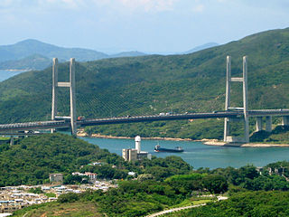 Kap Shui Mun Bridge bridge in Hong Kong