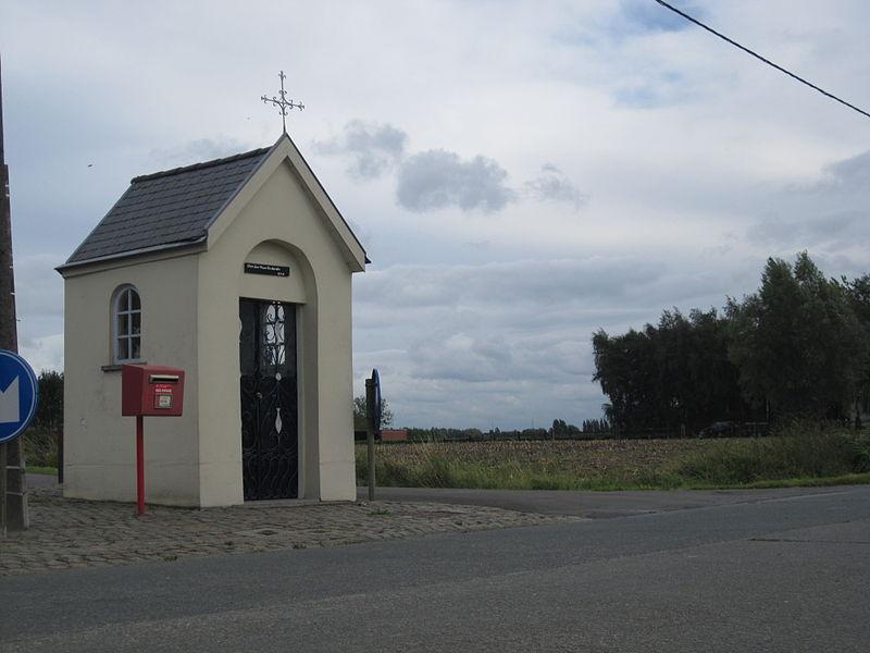 Kapel Onze-Lieve-Vrouw van Lourdes - Kleine Laarstraat - Vrasene - Beveren - Oost-Vlaanderen - België
