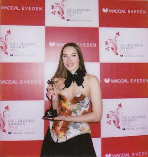 Karolina Laskowska - Laskowska at the 2015 UK Lingerie Awards