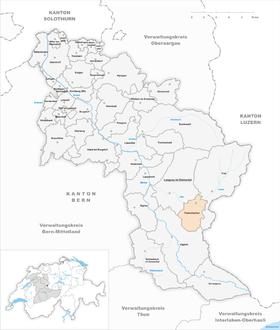 Map of Trubschachen