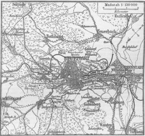Karte Stuttgart