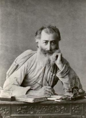 Alexander Kazbegi - Alexander Kazbegi. Photo by A. Roinashvili, 1880s
