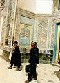 Kashgar-Mausolée d'Abakh Khoja, 1996 entrée.jpg
