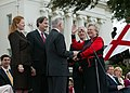 Kay Ivey is sworn in by Jeff Sessions.jpg