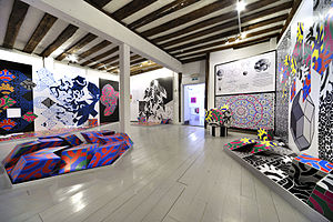 The Minories, Colchester - Installation view of Keith Albarn's exhibition, Pattern and Belief at The Minories Galleries