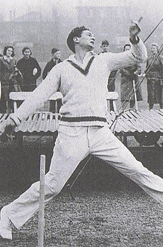 Third Test, 1948 Ashes series - Miller angered the crowd with his prolific use of bouncers during the English innings.