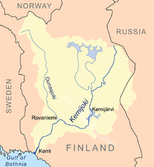 Kemijoki river map.png