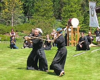 Kenjutsu - An example of modern nitōjutsu practice.