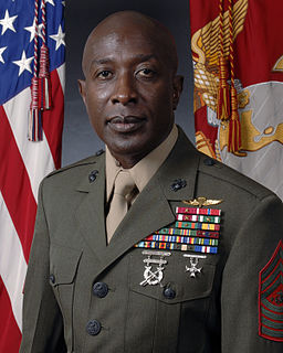 Carlton W. Kent 16th Sergeant Major of the Marine Corps