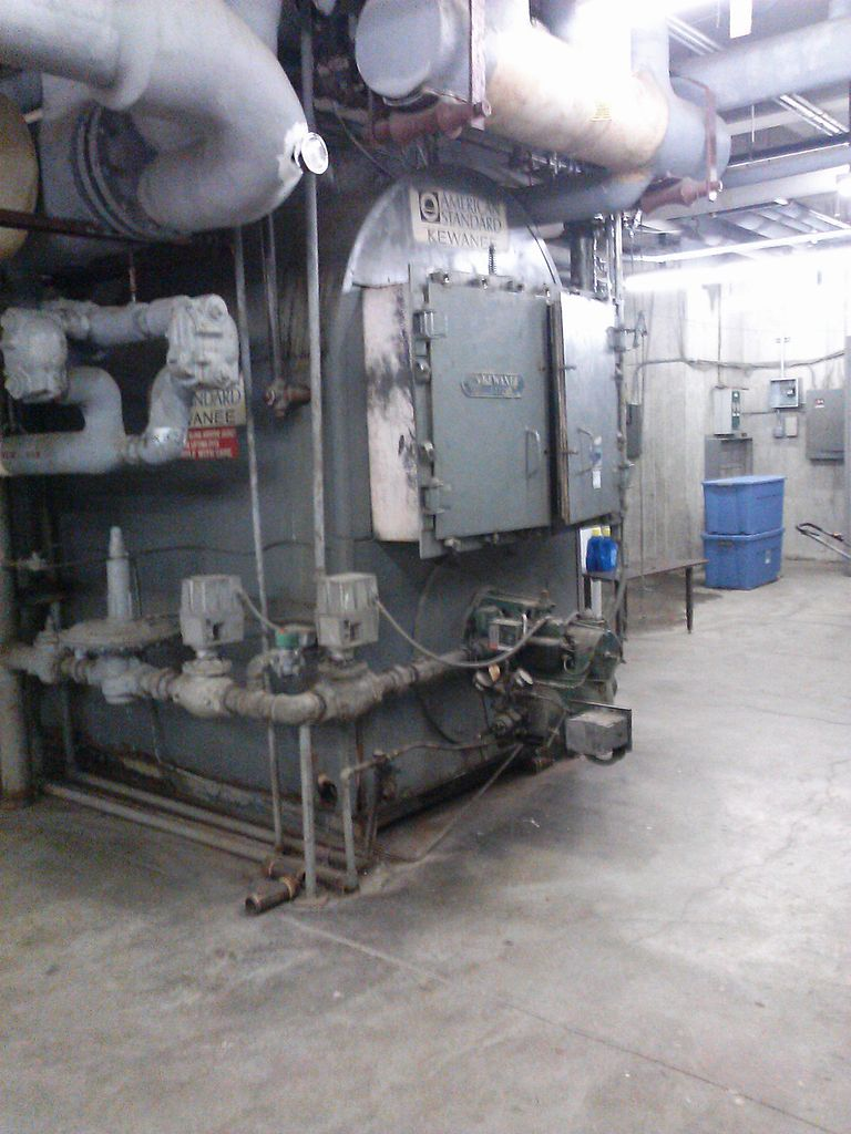 Here's a picture of a boiler