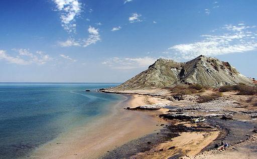 Khezr Beach, Hormoz Island, Persian Gulf, Iran, 02-09-2008