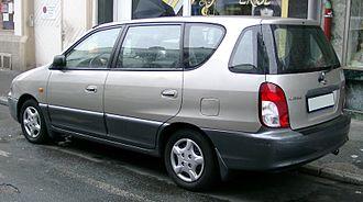 Kia Carens - Kia Carens (pre-facelift)