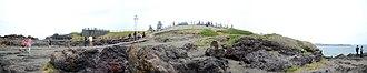 Kiama Blowhole - Image: Kiama blowhole panoramic view, Sydney