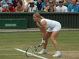Kim Clijsters - Clijsters at 2006 Wimbledon