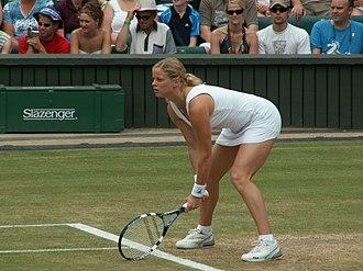 Kim Clijsters - Clijsters at 2006 Wimbledon